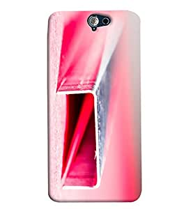 Blue Throat Rectangular Pipe Printed Designer Back Cover/Case For HTC One A9