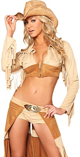 3WISHES 'Ravishing Rancher Costume' Sexy Cowgirl Costumes for Women
