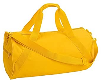 Liberty Bags Barrel Duffel - BRIGHT YELLOW - OS