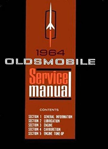 complete-unabridged-1964-oldsmobile-factory-repair-shop-service-manual-includes-f-85-cutlass-442-del