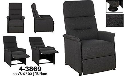 Sofa reclinabile Grigio