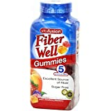 Vitafusion Fiber Well Gummies Excellent Source of Fiber Sugar Free: 220 Gummies