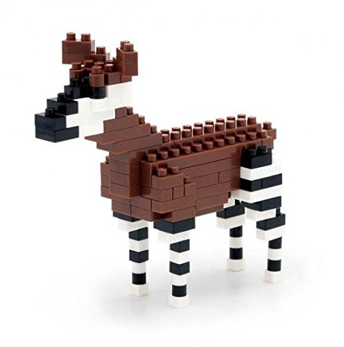 nanoblock nano block Okapi (japan import)