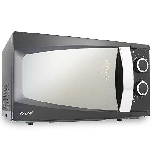 VonShef 17L Manual Microwave Oven