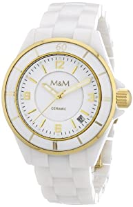 M&M Damen-Armbanduhr New Ceramic M11838-993