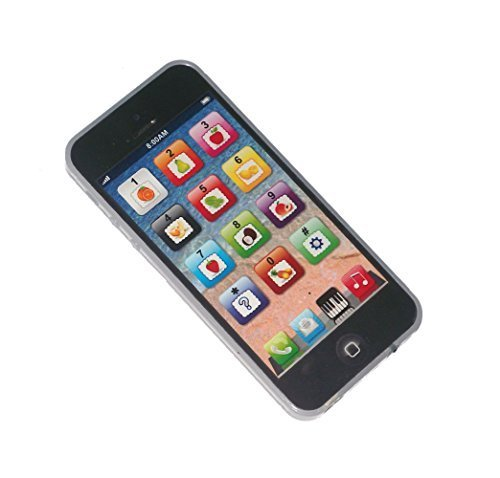 Black Mobile Toy Y-phone Kid Baby Music Touch Learning Study English USB Charge Yphone