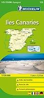 Carte ZOOM Iles des Canaries