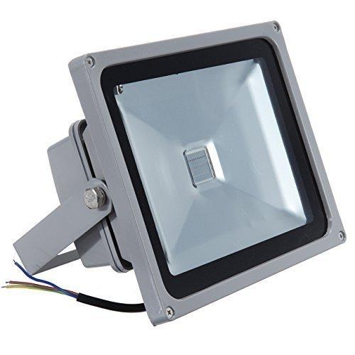 MountainNet 120° Angle De Faisceau IP65 RGB 30W LED Lumière D'inondation Alu Fête En Plein Air Télécommande