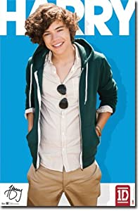 One Direction 1d - Harry Styles Wall Poster 22 X 34 from Trends