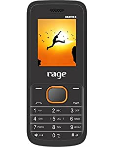 Rage Mobiles Bravo X Black+Orange