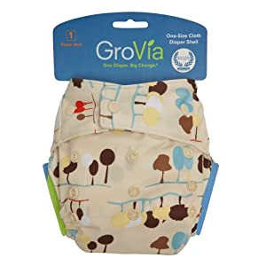GroVia Snap Diaper Shell System