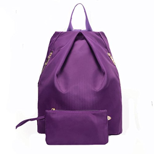 New-Cute-Ladies-Girls-Moire-Canvas-Satchel-Rucksack-Backpack-Shoulder-School-Bag