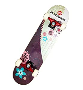 Buy Punisher Skateboards Soul Complete 31-Inch Skateboard with Canadian Maple by Punisher Skateboards