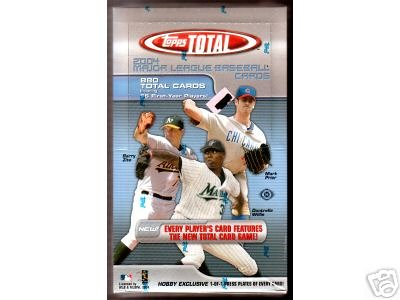 2004 Topps Total Baseball Hobby Box(36 packs/box)