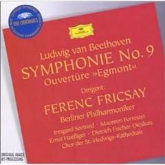 CD フリッチャイ指揮ベルリン・フィル ベートーヴェン:交響曲第9番の商品写真
