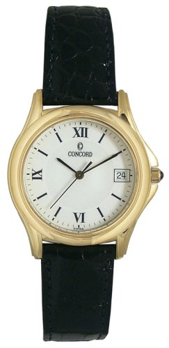 Concord Bennington 18K Solid Gold Men's Watch - 0393274
