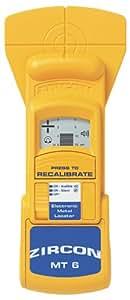 Zircon MetalliScanner MT6 Professional Metal Detector Lumber
