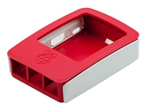 Official Box for the Raspberry Pi. White/Red