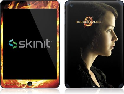 Skinit The Hunger Games -Katniss Everdeen Vinyl Skin for Apple iPad Mini