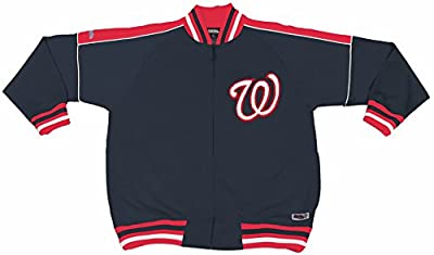 MLB Washington Nationals Contrast Shoulder Track Jacket