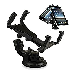 Tsmine Universal 360 Degree Rotating Windshield Dashboard Car Mount Holder for Samsung Galaxy Tab S2 9.7