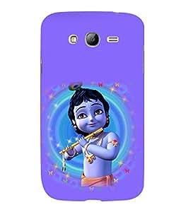 printtech Lord God Krishna Small Cartoon Back Case Cover for Samsung Galaxy Grand i9080:::Samsung Galaxy Grand i9082