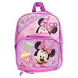 Disney Minnie Mouse 12 Backpack Detachable Utility Bag