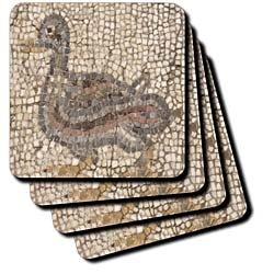 Amazon.com - 3dRose cst_51702_1 Roman Mosaic-Ephesus, Roman Ruins