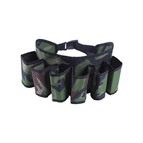 Ohuhu Beer & Soda Can Holster Belt, Holds 6 Beverages