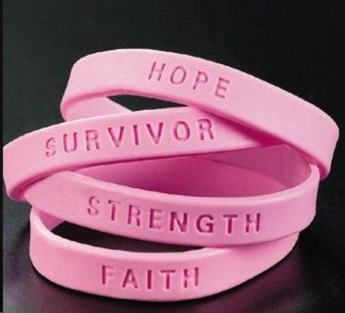 144 Breast Cancer Awareness Pink Bracelets (Receive 144 Per Order)