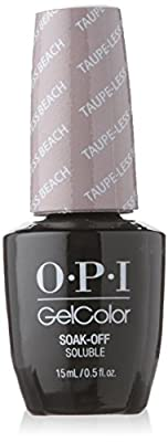 OPI Gel Nail Color, Taupe-Less Beach, .5 Ounce