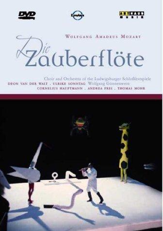 Mozart: Die Zauberflote (The Magic Flute) -- Ludwigsburg/Gonnenwein [DVD] [2001]
