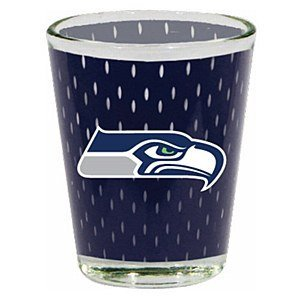 1 X Seattle Seahawks 2 Oz. Jersey Shot Glass