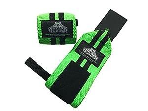Bear Grips: Wrist Wraps, Best Wrist Support, Wrist Brace, Crossfit Wrist Wraps, Weight Lifting Wrist Wraps and Wrist Straps for Gym, Workouts, Wods, Powerlifting. 12