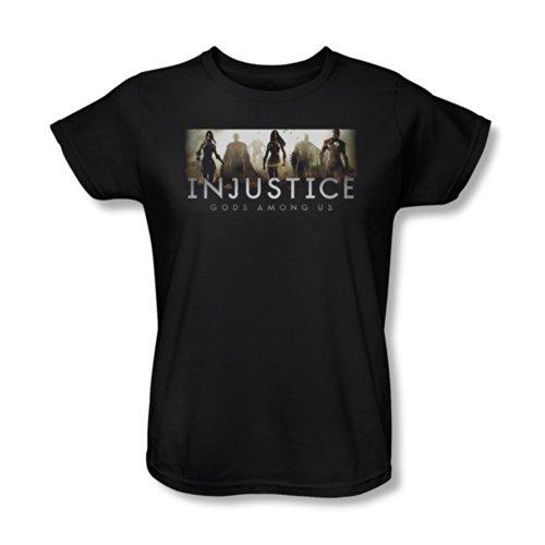 Injustice Gods Among Us Video Game Logo Women'S T-Shirt Tee
