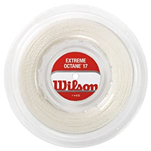 Buy Extreme Octane 17g Tennis String Reel White by Wilson