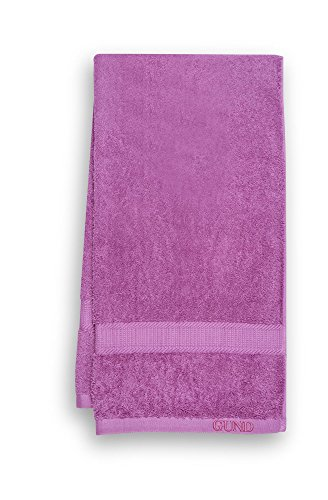 GUND Bear Essential Ringspun Bath Towel, Raspberry, 24'' By 48''