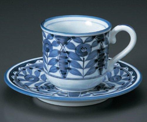 Orient 3Inches Set Of 2 Cups & Saucersjiki Japanese Original Porcelain