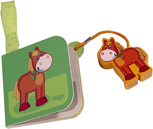 HABA My First Play World Farm, Horse Buggy Book