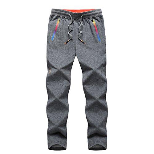 walk-leader-da-uomo-pantaloni-jogging-pantaloni-sport-outdoor-grey-xxxx-large