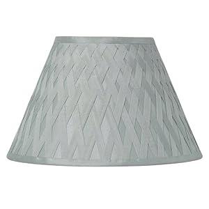 Laura Ashley Criss Cross Ribbon Faux Silk Ceiling Light Pendant Lamp Shade