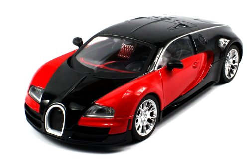 Review: Diecast Bugatti Veyron Super Sport Electric RC Car Metal 1:18 RTR (Colors May Vary) Full Metal, Metallic Paint Job