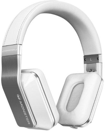Monster Power Inspiration Active Noise Cancelling Over-Ear Headphones (White)