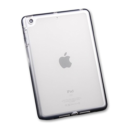 iPad Mini Clear Case Soft TPU Gel Silicone Bumper Case Back Skin Protective Cover for Apple iPad Mini 1 2 3 Tablet 7.9 Inch (Ipad Mini Protective Skin compare prices)