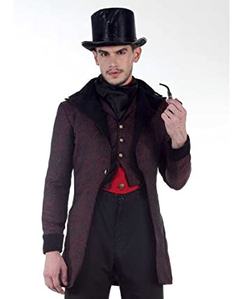 Steampunk Men's Coats Steampunk Victorian Dorchester Tailcoat Costume  AT vintagedancer.com