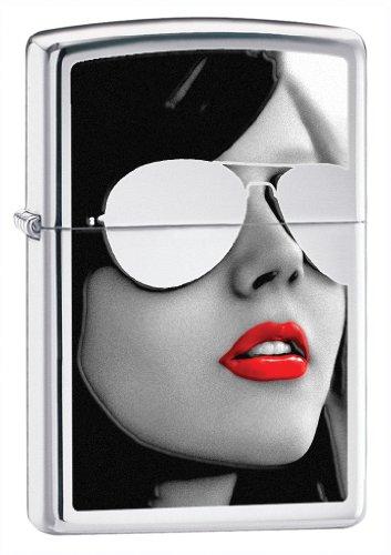 Zippo High Polish Chrome Sunglasses Lighter