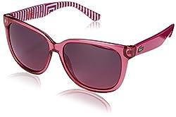 Lacoste Women's L710S-525  Frame: Pink / Lens: Pink Cat Eye 55mm Sunglasses