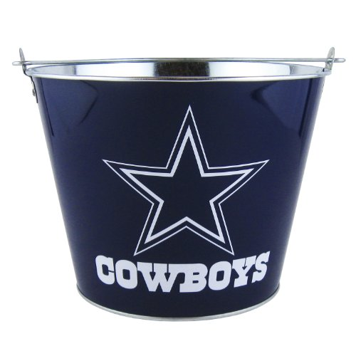 NFL Dallas Cowboys Full Wrap Metal Bucket, 5-Quart at Amazon.com