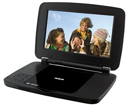 RCA DRC99392E 9-Inch Portable DVD Player with Rechargeable Battery and Remote Control, Black (Certified Refurbished) (Dvd Player Remote Control compare prices)
