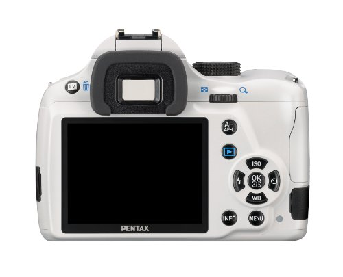 Pentax K-50 16MP Digital SLR Camera with 3-Inch LCD – Body Only  (White) best price